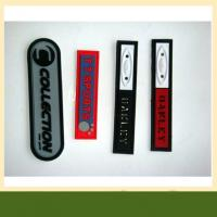 Hotsell Customized 3d Soft Pvc patch Rubber Pvc Patches For clothing