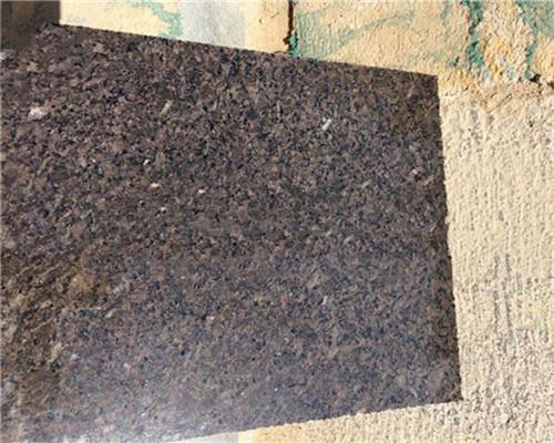 Quality Imperial Granite Stone Tiles , Black Granite Bathroom Floor Tiles for sale