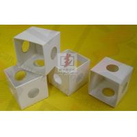 China White Cardboard Folding Gift Boxes With Pvc Window , Folding Paper Boxes wholesale