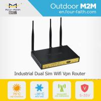 China F3B32 wireless modem network routers 3g load balance dual sim card router on sale