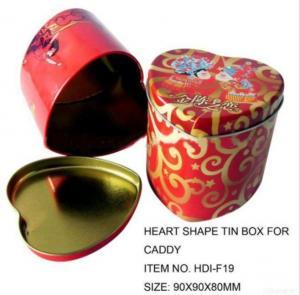 China Heart Tin Box For Cake wholesale