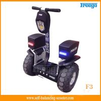 China Standing 48cm Vacuum Tire Off Road Electric Scooter Two-Wheel For Policeman wholesale