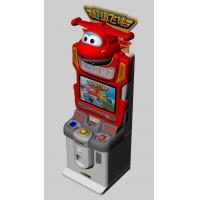 China Colorful Lighting Children Card Game Machine Super Wings Subject Easy Use wholesale