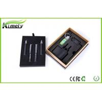 China Green Smoke Black / Red 1100mah Ego W Electronic Cigarette Vivi Nona Atomizer For Lady wholesale