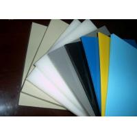 China Smooth Or Sand Surface Blue Colored Plastic Sheet For Chemical Industry Light Density wholesale