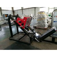 China Hammer Strength Gym Exercise Equipment , Pure Strength Leg Press Exercise Gym Equipment wholesale