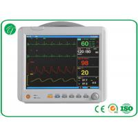 China Dual TEMP ECG Patient Monitor , Medical Monitoring Equipment SPO2 Technology wholesale