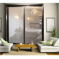 China CY818E-809 Partition Sliding Doors With Aluminum Frame, Durable Glass Sliding Closet Door Factory For Bedroom on sale