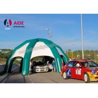 China 膨脹可能なスポーツを広告する屋外の膨脹可能な車のガレージのテントはトンネルを掘ります wholesale