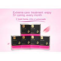 China Fluorescence / Formaldehyde Free Female Sanitary Towels ISO 9001:2008 / SGS Certified wholesale