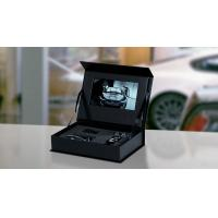 China Luxary Hard Cover Lcd Video Box / Jewellery Video Box With Hd 7 Inch Screen wholesale