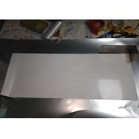 China Stable Size White PET Reflective Film , High Gloss White Film For Light Source Reflection wholesale