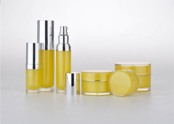 Quality Capacity 10ml color bright yellow 447mm Empty Makeup Containers for sale