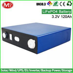 solar battery pack 3.2V 120Ah lifepo4 battery cell for electric forklift