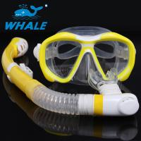 Buy cheap Durable Comfortable Diving Snorkel Set Safe Float Valve Ball Design , Easy Use from wholesalers