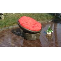 China UV Resistant PE Rattan / Resin Wicker Rocking Chair For Indoor on sale