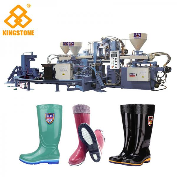 Quality Automatic Rotary Boot Making Machine For Rain Boots / 70-90 Pairs Per Hour for sale