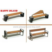 China Customized Garden Park Bench , Outdoor Park Benches wholesale