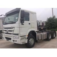 China low fuel consumption 336 HP SINOTRUK HOWO 6*4 tractor truck wholesale