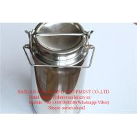 China SS304 Milk Cans , 20L Milk Bucket For Milk Transportation and Storage wholesale