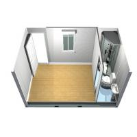 China Demountable standard Flat Pack Houses Office , Container Modular Homes wholesale