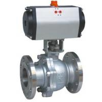 China 8' Electric Operation full Opeing Material A216 Gr WCB Ball Valve with Flange Connection wholesale