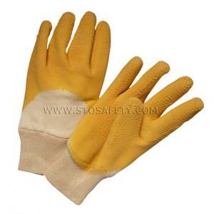China Heavy Duty latex coated gloves on sale