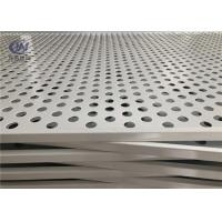 China Stainless Steel Perforated Metal Sheets Round Holes for Food Processing wholesale