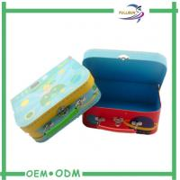 Customized Different Size Suitcase  Magnetic Gift Boxes for Candy Packaging
