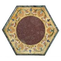 China China red marble stone tops wholesale