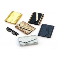 China Fashion Ladies Envelope Clutch Bag , Small Size Black And Gold Clutch Bag wholesale