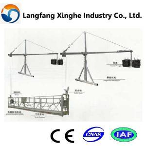 China suspended scaffolding platform/working cradle/ lifting gondola wholesale