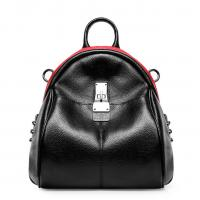 China Genuine Cow Leather Shoulder Bags High Fashion Cowhide Backpacks School Bag wholesale