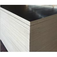 China 15mm Black Brown Concrete Shuttering Plywood One Time Hot Press Poplar Core wholesale