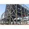 China Large Residential Metal Buildings , Galvanizing Prefabricated Steel Frame Buildings wholesale