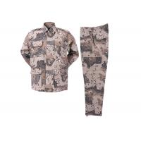 China Six color  desert Rip-stop  BDU Woodland Army Police Uniforms wholesale