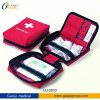 China GJ-2033 Family Colorful First-Aid Kit / Travel First Aid Kit / Sport First Aaid Kits ISO wholesale
