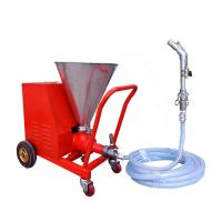China Light Weight Waterproofing Spray Machine With Screw Pump Evenly Spraying wholesale