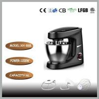 Polishing And Brushed Mixing Bowl Kitchen Stand Mixer 1200 Watt AC Motor 6 Liters