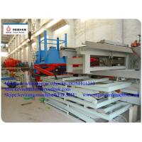 China Cold Pressure Two Sides Formed MgO Board Production Line For Construction Board Material wholesale