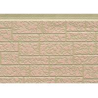 China Customized Color Steel Polyurethane Foam Sandwich Panels For Exterior Wall wholesale