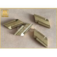 China Customized Size Tungsten Carbide Inserts With Universal Groove Profile Design wholesale