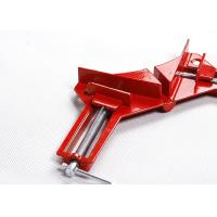 China 76mm 90 Degree Corner Clamp Aluminium Alloy For Splicing / Doweling wholesale