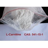 China Most Powerful Pharmaceutical Raw Materials L Carnitine Dietary Supplement wholesale