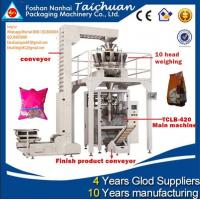China factory price TAICHUAN almond/green pean/ sunflower seeds packing machine wholesale