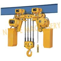 China Electric Rope Hoist / 10 Ton 5 Ton Electric Hoist With Double Cover Protection wholesale