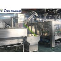 China Small Plastic Water Bottling Equipment , Water Bottle Filling Machine wholesale
