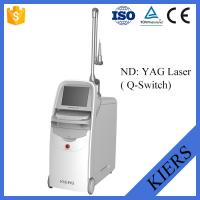 China Medical Q Switched Nd Yag Laser Tattoo Removal Machine With Big Spot Size Treatment wholesale