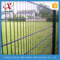 China Professional Double Wire Fence / Twin Wire Mesh Fencing Square Hole Shape wholesale