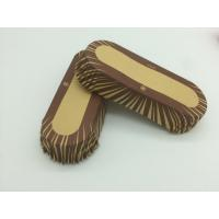 Oilproof Boat Shaped Paper Baking Cups Brown Cupcake WrappersMuffin Eco Friendly